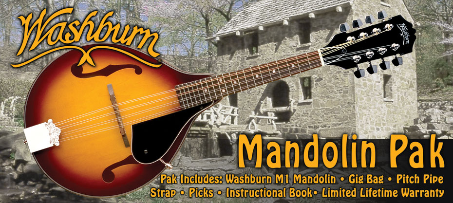 Washburn M1K Mandolin Pack