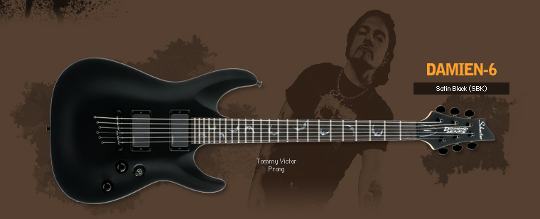 Used Schecter  Damien 6