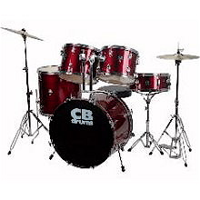 CB Five Piece Drum Set