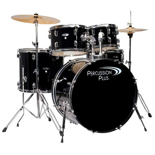 Percussion Plus 5 piece drumset w/cymbals-PP4100