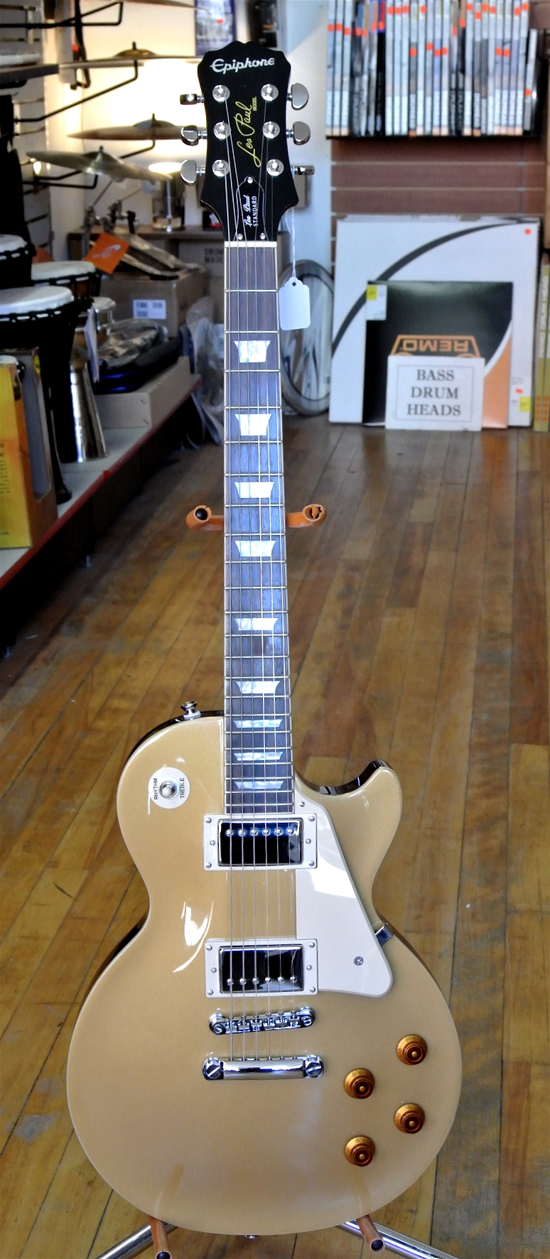 Used Epiphone Les Paul STD Gold Top